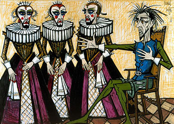 Bernard Buffet Don Quichotte