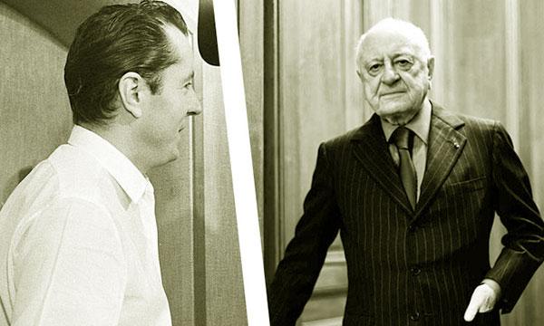 Bernard Buffet et Pierre Bergé
