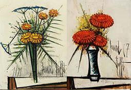 Série de fleurs de Buffet